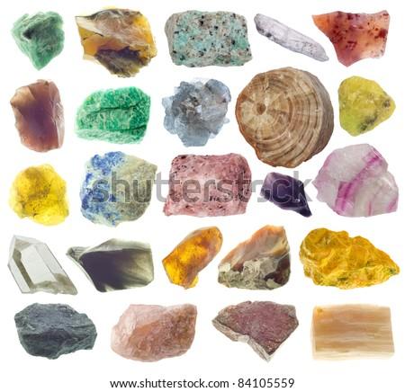 minerals - stock photo