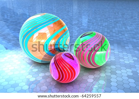 Minerals - Diversity - The range of colors - an abstraction of the minerals - stock photo