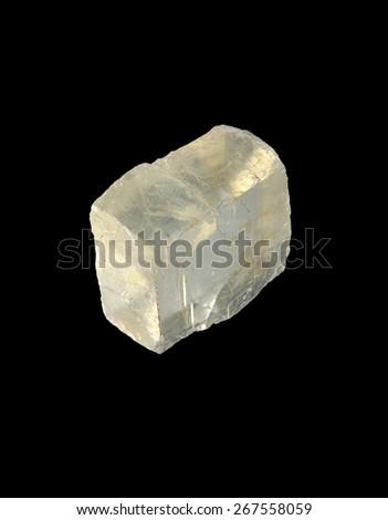 minerals Iceland spar - stock photo