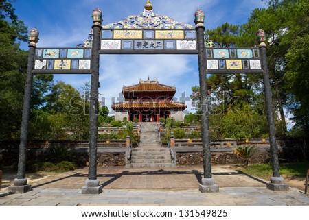 Minh Lau Pavilion - stock photo