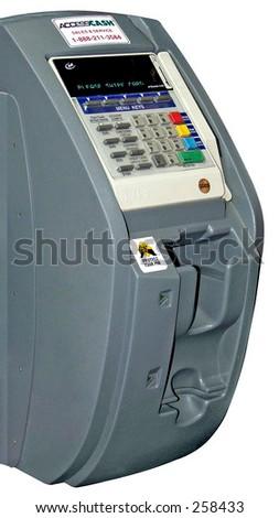 Mini ATM - stock photo