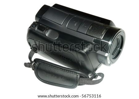 mini digital video camera - stock photo