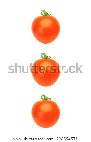 mini-tomato - stock photo