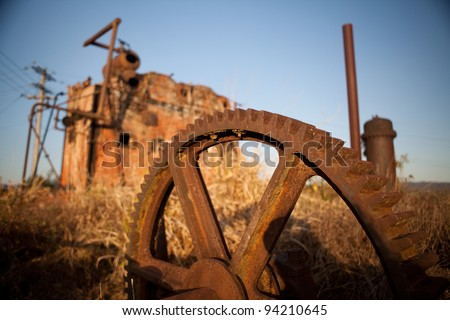 Vintage Industrial Machinery