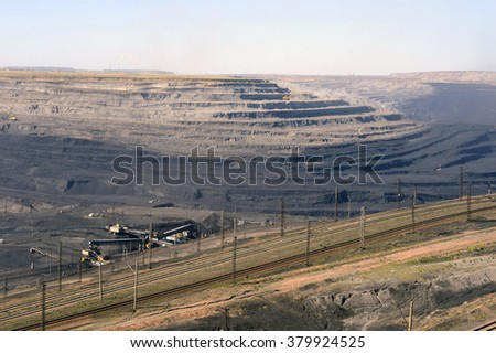 mining, black, brown, coal, earth, quarry, cut, outdoor fashion, technology, mining, ledges, blade, slaughtering, industrial landscape,