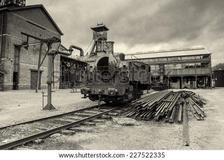 Mining History Centre of Lewarde, Nord department, Nord-Pas-de-Calais region, France - stock photo