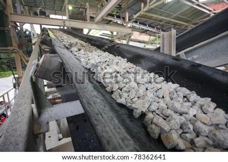 mining industry - stock photo