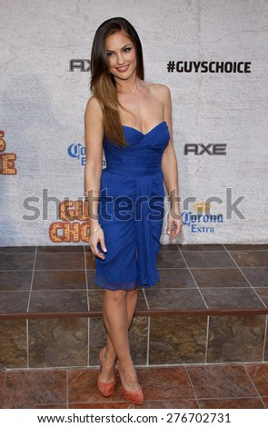Minka Kelly at the 2011 Spike TV's Guys Choice Awards held at the Sony Studios in Culver City on June 4, 2011.