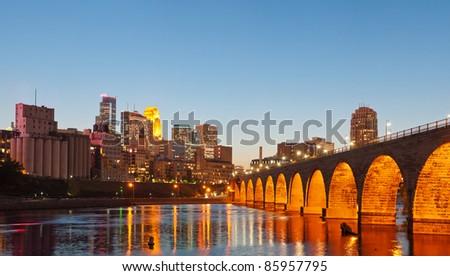 Minneapolis. - stock photo