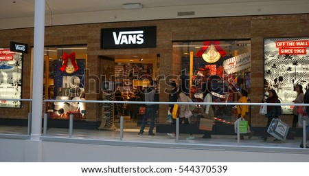Vans Shoe Store Mall Of America