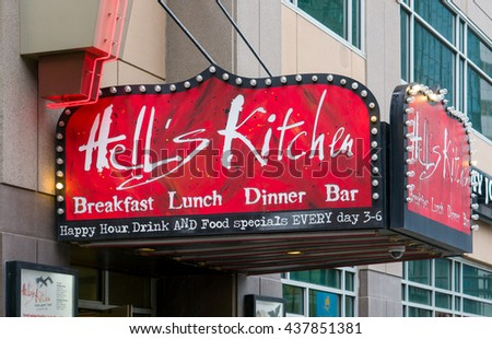 Hell S Kitchen Minneapolis Mn  Usa