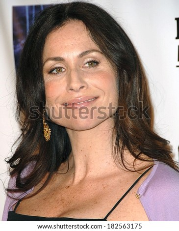 Minnie Driver at Screening of FX Network's RICHES Season 2 Premiere, Pacific Design Center, Los Angeles, CA, March 16, 2008 - stock photo