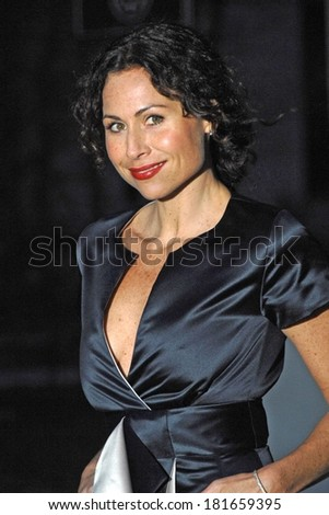 Minnie Driver at 6th Annual Tribeca Film Festival Vanity Fair Party, New York State Supreme Courthouse, New York, NY, April 24, 2007 - stock photo