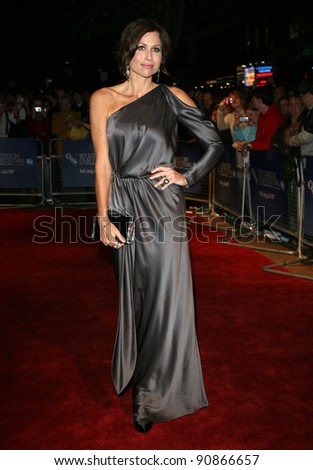 Minnie Driver attends the premiere of 'Hunky Dory' at The 55th BFI London Film Festival at The Vue West End, London.  25/10/2011 Picture by: Alexandra Glen / Featureflash - stock photo