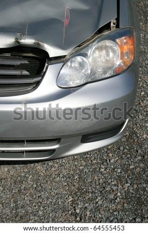 Minor Car Accident - stock photo