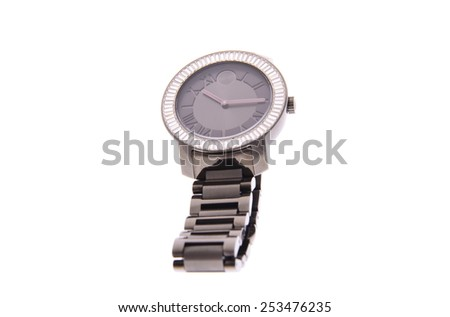 Minsk, Belarus - February 10, 2015: Movado Bold Women's Watches Isolated
