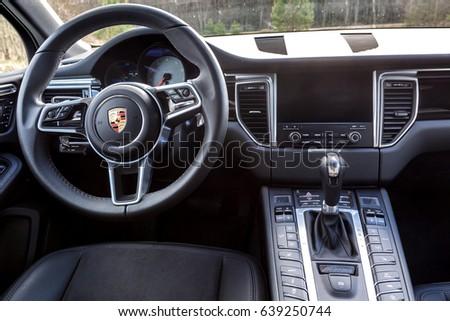 MINSK BELARUS 1 MAY 2017 Porsche Stock Photo Royalty Free