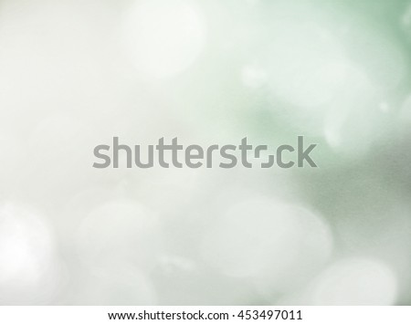 Mint Green and Grey Bokeh Background