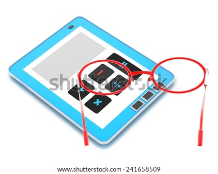 MINUS SIGN - stock photo