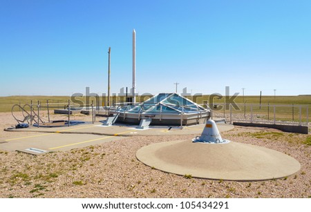 Minuteman Missile National Historic Site - stock photo