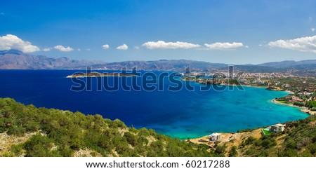 Mirabello Bay - stock photo