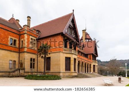 Miramar Palace, San Sebastian, Basque Country, Spain - stock photo