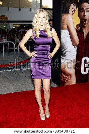 """Mircea Monroe at the Los Angeles Premiere of """"The Change-Up"""" held at the Mann Village Theater in Los Angeles, California, United States on August 1, 2011.   - stock photo"""