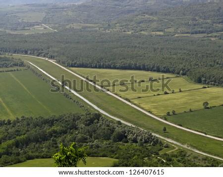 Mirna valley - stock photo