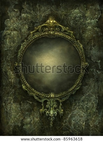 Mirror - stock photo