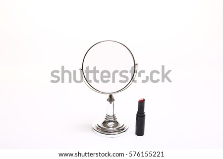 Mirror and makeup