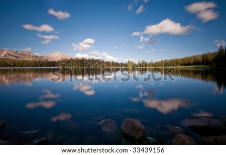 Mirror Lake, Uinta National Forest, Utah