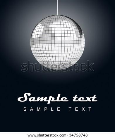 mirrorball, mirror ball - stock photo