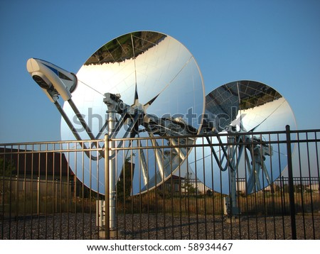 Parabolic Solar Stock Images Royalty Free Images