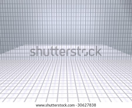 Mirrored table background for subjects