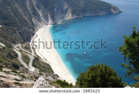 Mirtos beach in Greece