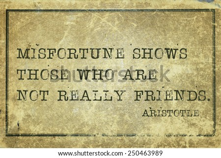 philosophy aristotle and friendship To a better discussion on friendship according to aristotle, one needs to mention   moreover, these friendships demand time, since, as the philosopher wisely.