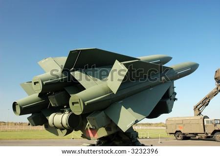 Missiles - stock photo