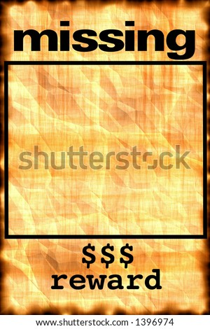 missing poster stock photos images amp pictures shutterstock