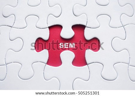 Missing puzzle with SEM word