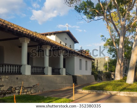 Mission San Luis Obispo de Tolosa is a Spanish mission founded in 1772 by Father Jun�­pero Serra in the present-day city of San Luis Obispo, California.