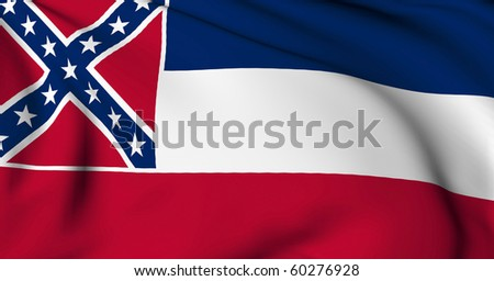 Mississippi flag - USA state flags collection