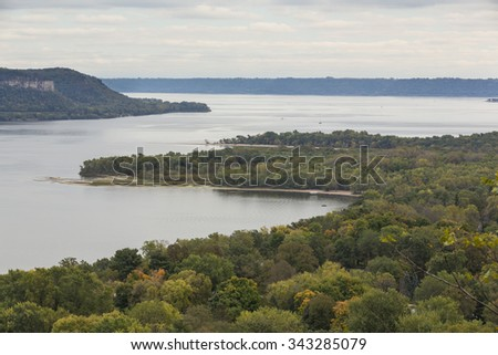 Mississippi River & Lake Pepin Scenic