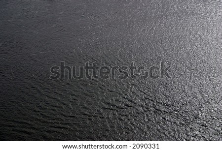 mississippi river water - stock photo