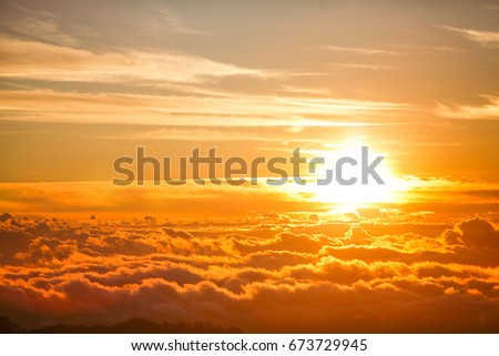 mist mountain sunrise, morning light, sunrise sky, sunrise on could, sunrise fog