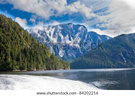 Misty Fjords National Monument - stock photo