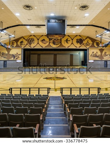 MITCHELL, SOUTH DAKOTA - OCTOBER 27: Interior of the Corn Palace on Main Street on October 27, 2015 in Mitchell, South Dakota