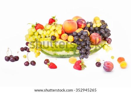 Mix fruit - stock photo