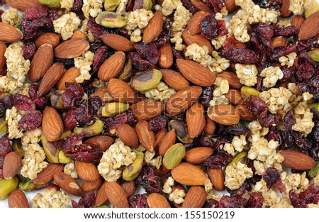mix nut for background uses - stock photo