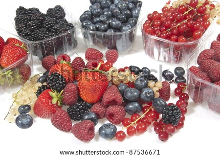 Mix of fruits - stock photo