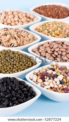 Mixed Beans and Grains - stock photo